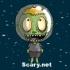 Zombie Head Mars